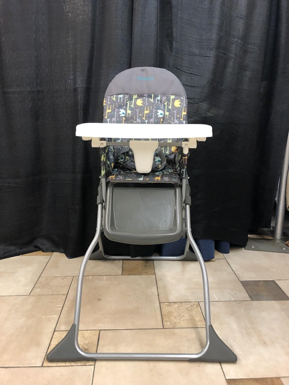 Folding High Chair w/ Tray