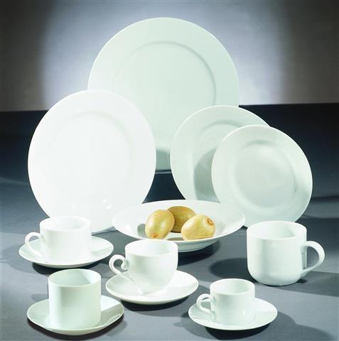 Royal White Dinner Plate 10.25 in 9