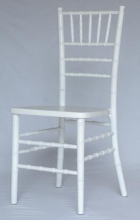 White Chiavari Cane Chair