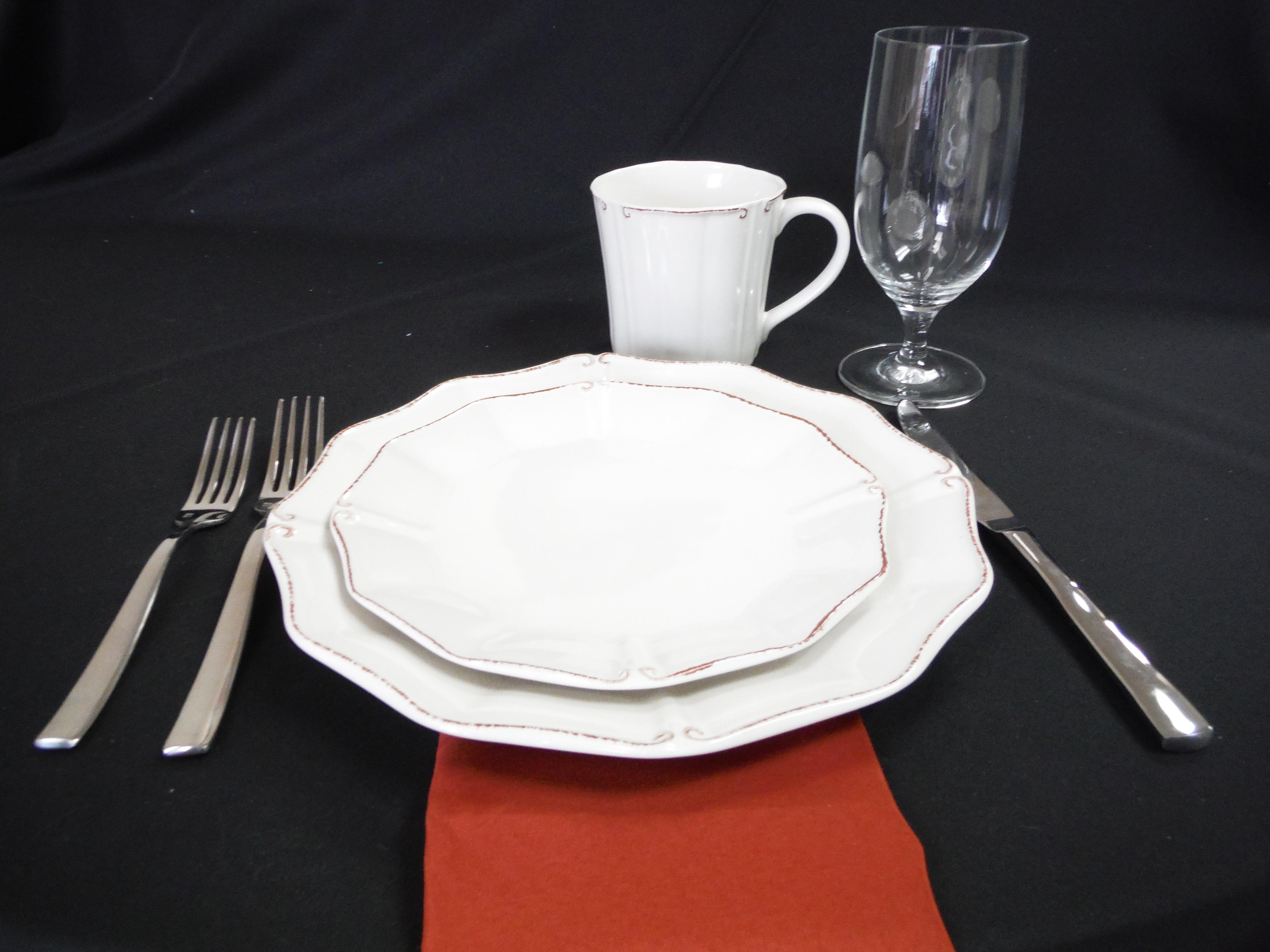 Villa Salad/Dessert Plate 3063
