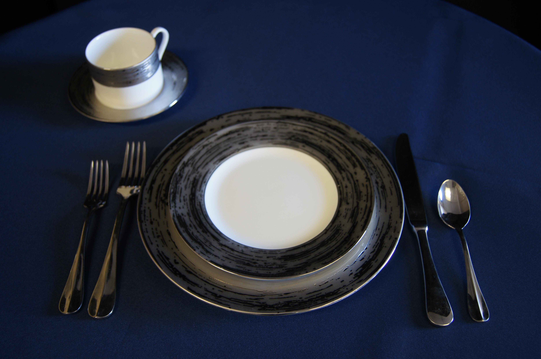 Platinum Dinner Plate 10 2790