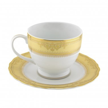 Vanessa Gold Saucer 5 .75in 154