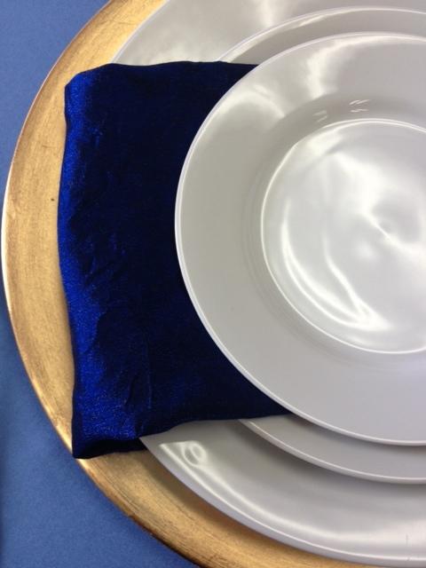 Royal White Salad/Dessert Plate 7.5 10