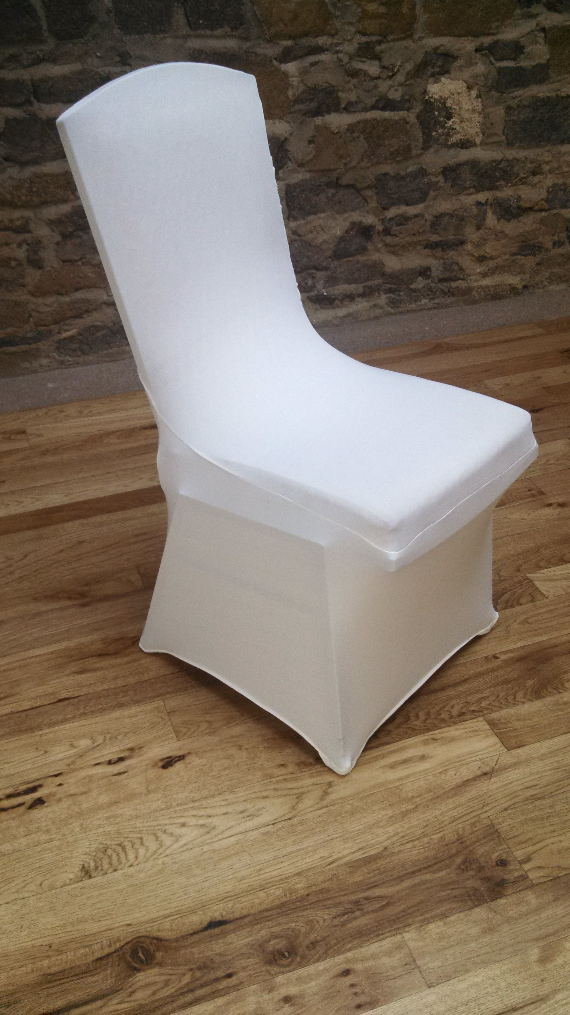 Ivory Chair Cover Spandex Princess 00070