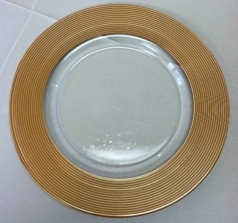 Charger Saturn Gold  Matte Rim 13