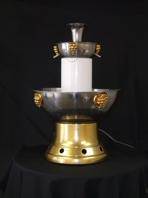 Champagne Fountain 3 Gal Stainless