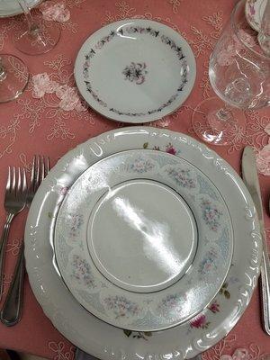 Vintage Variety Dinner Plates