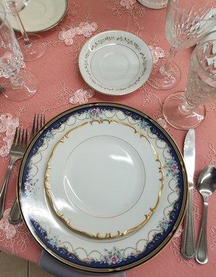 Vintage Variety Salad Plate