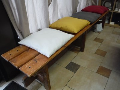 Colored Bench Cushion 18
