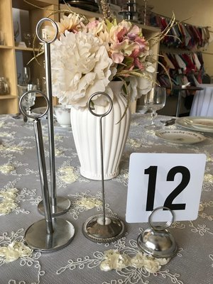Table Number Stand 12