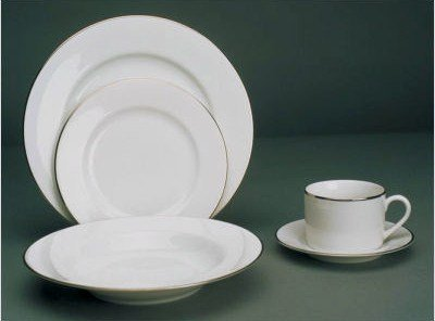 Silver Line White China (Click on the picture for options)