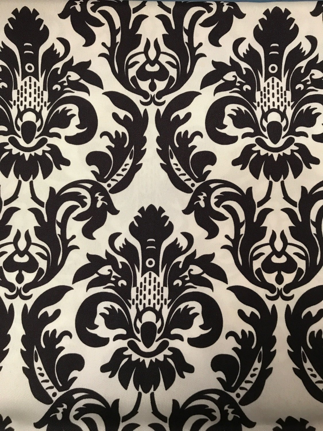 Black and White Fleur Linen (Click on the picture for Options) 00787