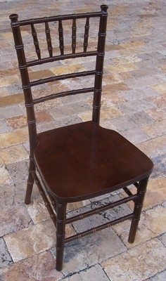 Mahogany Chiavari Cane Chair