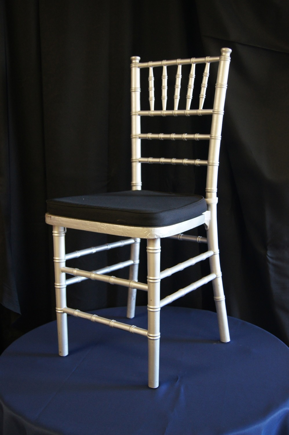 Silver Chiavari Cane Chair (pad not included)