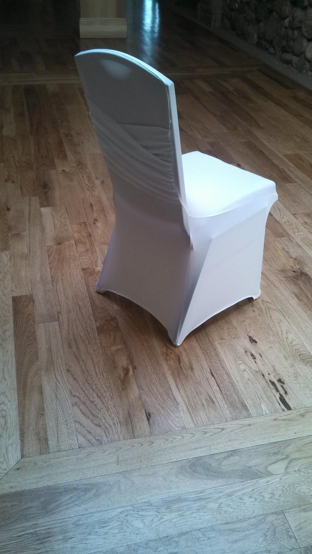 White Chair Cover Spandex Princess