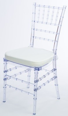 Ice Chiavari Chair pad not included