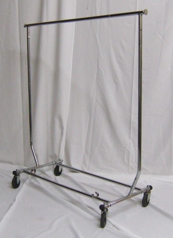Rolling Garment Rack 4ft w/o hanger