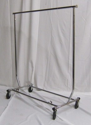 Rolling Garment Rack 4ft w/o hanger