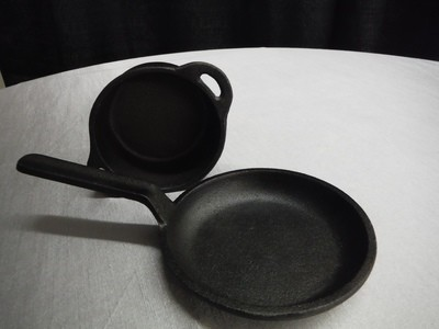 Cast Iron Cassolette 4 in round