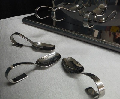 Tasting Spoon Looped Handle