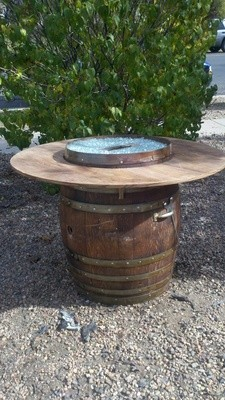Fire Pit Table 4' Round