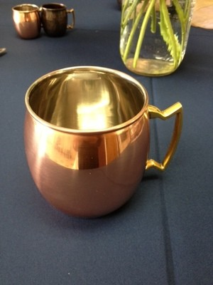 Copper Mug w/Handle 17oz