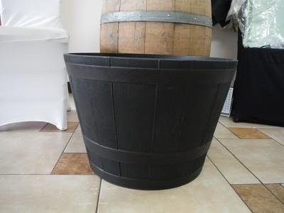 Whiskey Half Barrel  Plastic