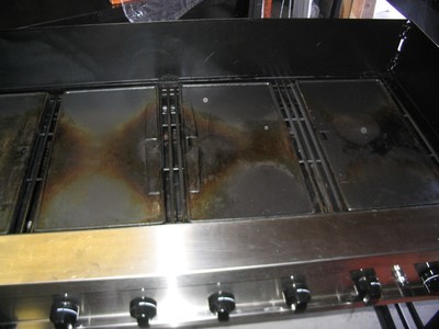 Griddle Cast Iron 11in x 19in