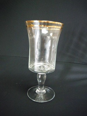 Gold Line Bella Crystal Water Glass