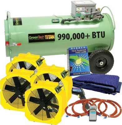 Bed Bug Heat Treatment Equipment Packages To Efficiently Kill