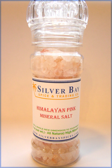 Himalayan Pink Salt with Grinder