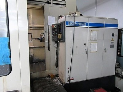 "1 – USED TOSHIBA BMC 100E 40"" X 40"" (2) PALLET FULL A-AXIS HORIZONTAL MACHINING CENTER"