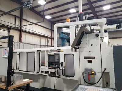 1 – USED KITAMURA BRIDGECENTER 8 PLUS (EXTENDED TRAVEL) VERTICAL MACHINING CENTER