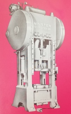 1 – USED 150 TON MINSTER SSSC MECHANICAL POWER PRESS