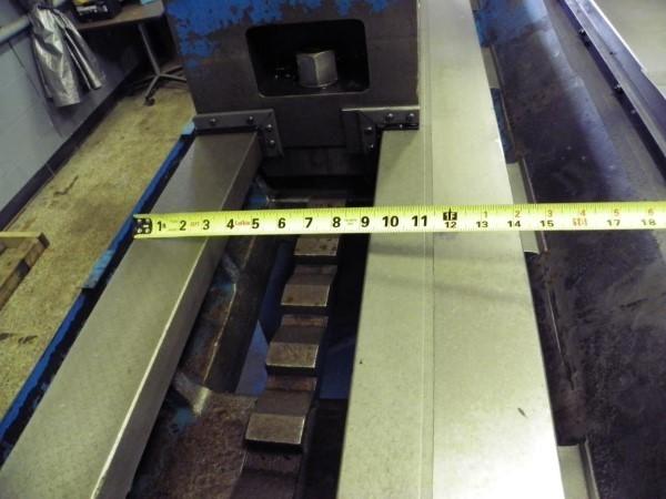 "1 - USED 39""/120"" X 98""/157"" BINNS & BERRY CNC UNIVERSAL SLIDING BED"