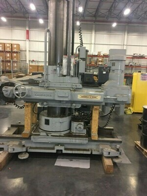 1 - USED MODEL A125-U KAUKANA HORIZONTAL PORTABLE RADIAL DRILL