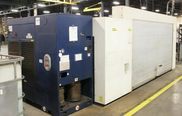 1 – USED 2,500 WATT 5' X 10' TRUMPF OPTIC CNC LASER CUTTING SYSTEM