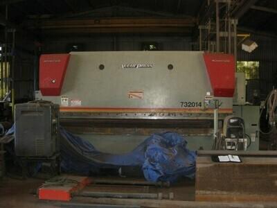 1 - USED 320 TON X 14' ACCURPRESS CNC HYDRAULIC BRAKE
