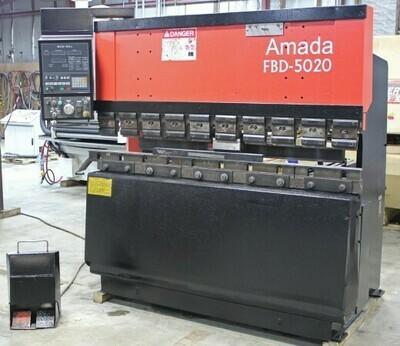 "1 - USED 55 TON X 82.1"" AMADA HYDRAULIC PRESS BRAKE"