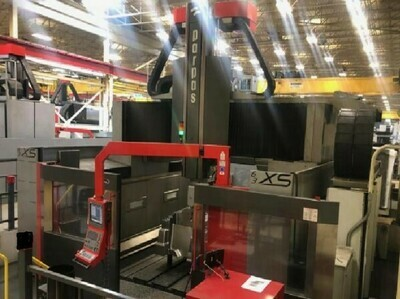 "1 – USED 236"" X 118"" PARPAS XS63 5-AXIS HIGH SPEED GANTRY MILLING MACHINE"