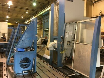 "1 - USED 102"" X 394"" 5-AXIS UNION FC-1 FLOOR TYPE CNC UNIVERSAL MACHINING CENTER"