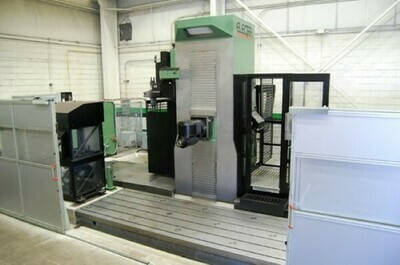 "1 – USED 55"" X 157"" OMV PARPAS ELECTRA 5-AXIS HIGH DYNAMIC TRAVELING COLUMN CNC MILLING MACHINE"