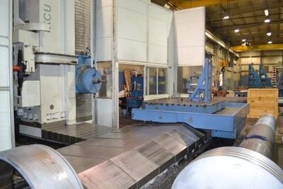 "1 - USED 6"" UNION CNC PLANER TYPE HORIZONTAL BORING MILL"