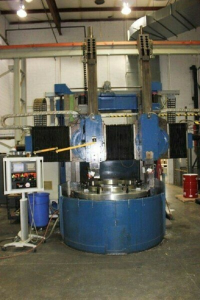 """1 - USED 74"""" GRAY CNC VERTICAL BORING MILL"""
