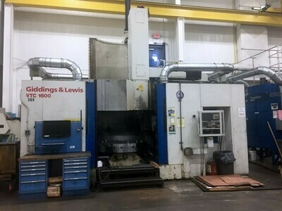 "1 – USED 78"" G&L CNC VERTICAL TURNING CENTER"
