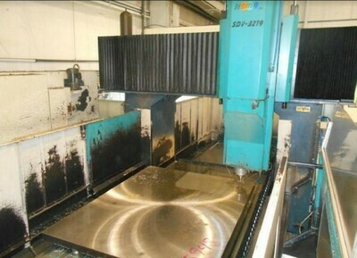"1 – USED 118"" X 67"" SIGMA BRIDGE TYPE VERTICAL MACHINING CENTER"
