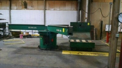 "​1 – USED 72"" X 30,000 LB. DAHLSTROM 3-ARM TURNSTILE"