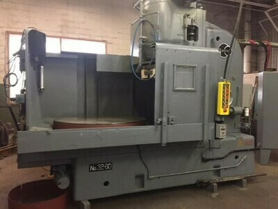 """1 – USED 60"""" BLANCHARD VERTICAL SPINDLE ROTARY SURFACE GRINDER"""