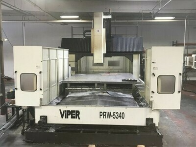 "1 – USED 200"" X 133"" MIGHTY VIPER CNC BRIDGE MILL"