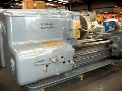 """1 – USED 32"""" X 96"""" AMERICAN PACEMAKER ENGINE LATHE"""